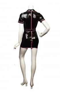 latex jurk Mariette