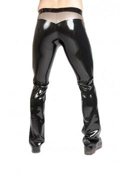 latex broek stripe
