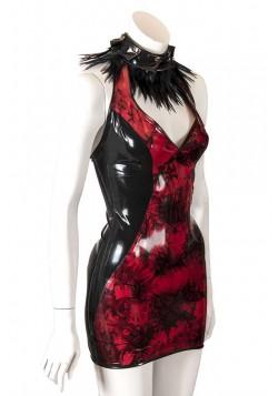 latex jurk Stefanie