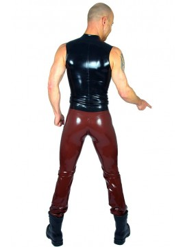 latex broek model casual jeans