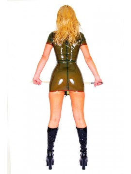 latex jurk Pascalle