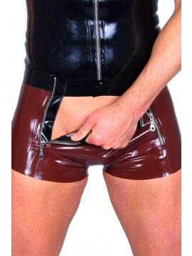 latex  broek 2 zip