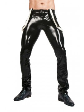 latex broek 5 pocket