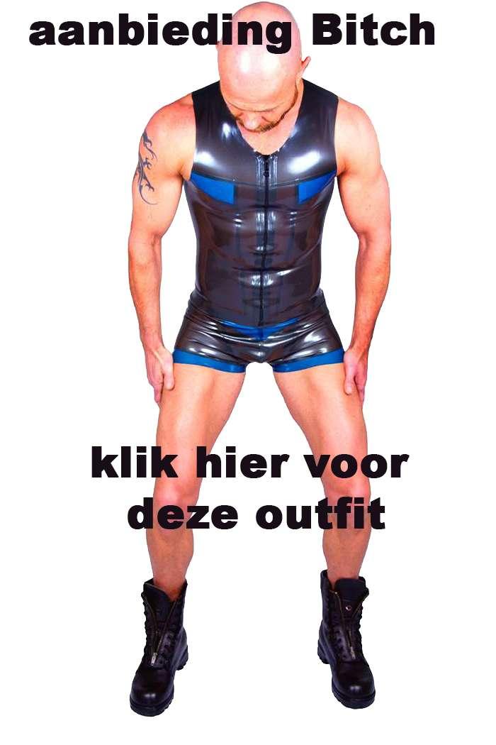 BITCH kleding dresscode heren