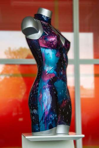 latex jurk
